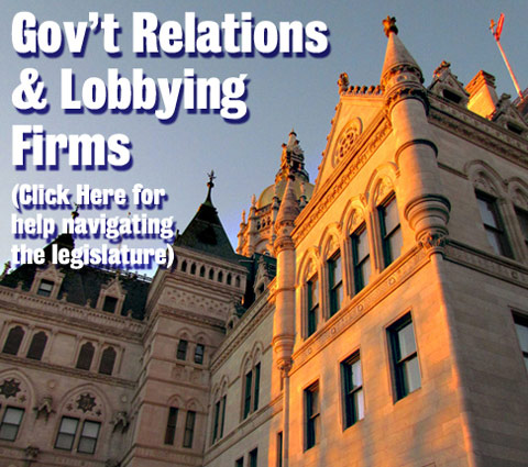 Gov't Relations & Lobbying Firms (Click Here for help navigating the legislature)