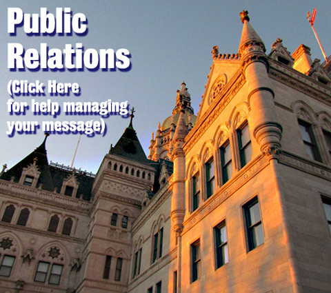 Public Relations (Click Here to help manage your message)