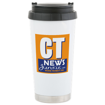 20.2 oz white stainless steel travel mug