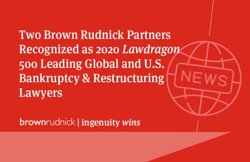 Hat Tip for 2 Partners at Brown Rudnick