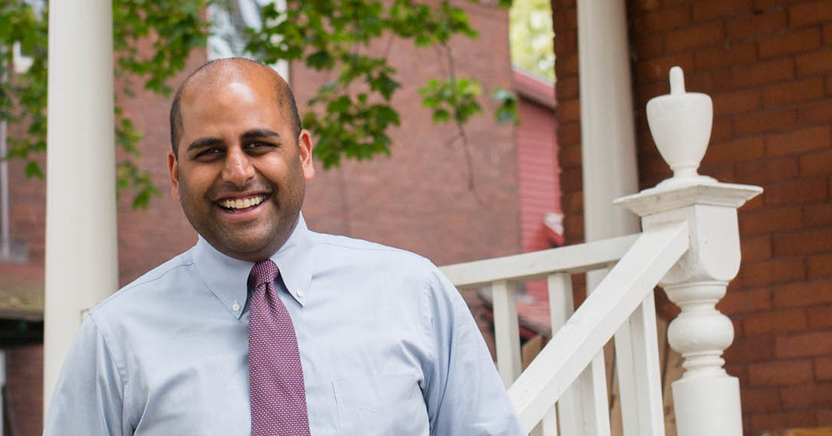 Arunan Arulampalam, a Hartford resident from the South End, stepped down as Deputy Commissioner of the Connecticut Department of Consumer Protection to join the Hartford Land Bank as its CEO. (Christopher Capozziello photo)